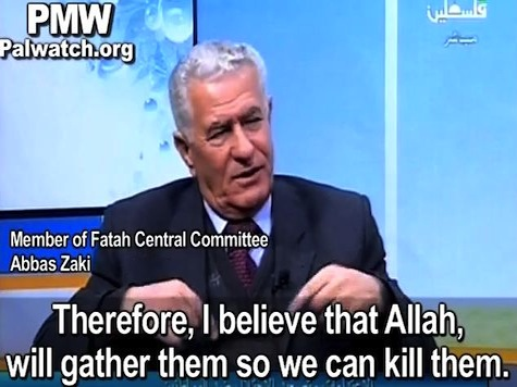 Palestinian Official: Allah Will Gather Israelis So Palestinians Can Kill Them