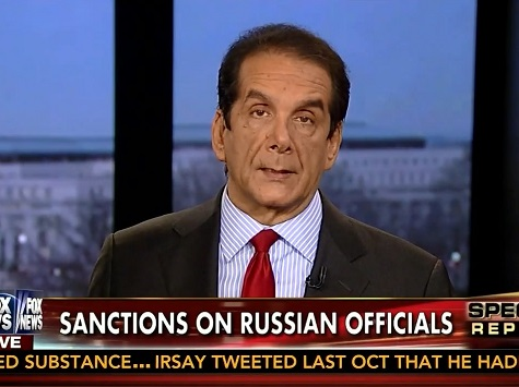 Krauthammer: Obama 'Sanctions' on Russia 'a Humiliating Response'
