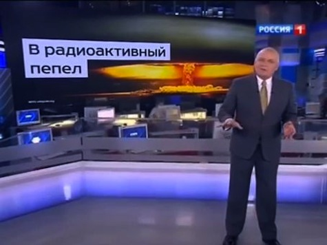 Russian State TV Says Russia Could Turn US Into 'Radioactive Ash'