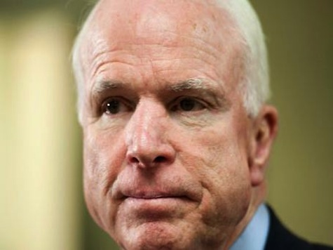 McCain: Putin Must Be Encouraged After Obama's Absolutely Timid Sanctions