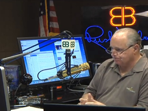 Rush Limbaugh: Obama Is Filling Out His March Madness Picks While Putin Is 'Reassembling the Soviet Union'