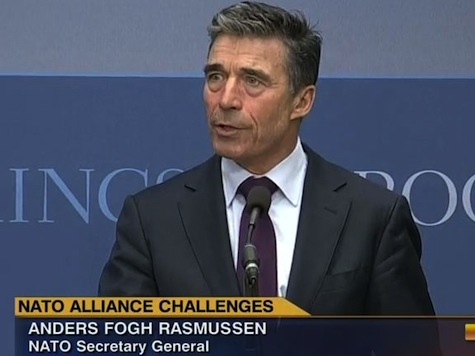 NATO Secretary General: Putin's Aggression a 'Grave' Threat to Europe's Security