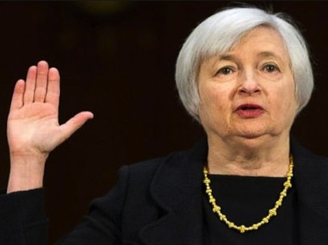 Fed Chair Says The Buck Stops With Her
