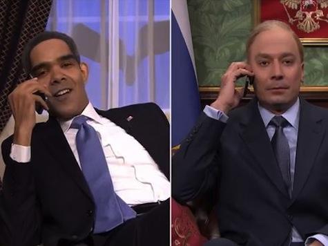 Jimmy Fallon Mocks Obama in Putin 'Phone Conversation'