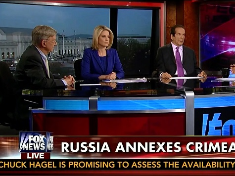 Krauthammer, Will Warn Economic Sanctions Won't Deter Additional Russian Military Action