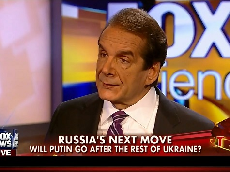 Krauthammer: Obama 'Living in a Fantasy World' on Ukraine; US Sanctions a 'Speed Bump' to Putin