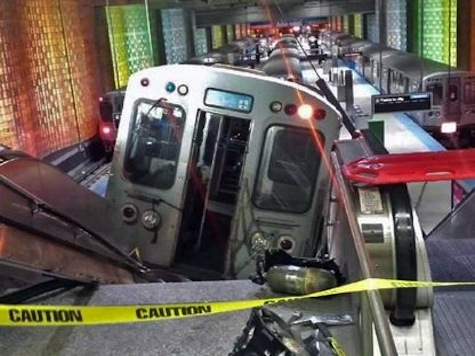 Eye Witness Account After Chicago Subway Train Derails, Lands on Escalator at O'Hare Station