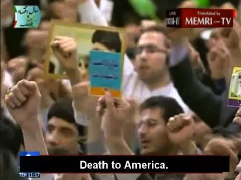 Iranian Supreme Leader Denies the Holocaust as Crowd Chants 'Death to America'