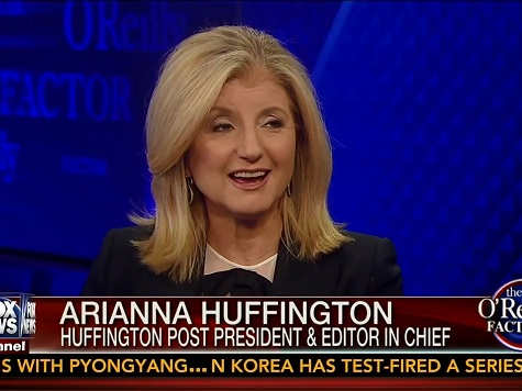 Bill O'Reilly to Arianna Huffington: 'You Need to Be a Little More Fair on that Website'