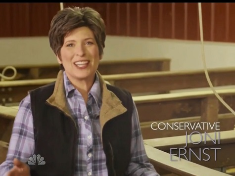 Iowa GOP Senatorial Hopeful Joni Ernst 'Hog Castration' Campaign Ad Featured on 'The Tonight Show'