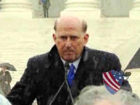 Watch: Rep. Louie Gohmert Speaks in Front of Supreme Court as Hobby Lobby Oral Arguments Are Being Heard