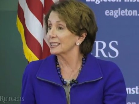 Pelosi: 2016 Is 'Absolutely' the Year for Female, Hillary Clinton Elected to Presidency