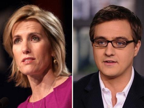 Laura Ingraham Slams 'Elitist' Chris Hayes, MSNBC for Sanctimonious Attacks on Redskins Team Name