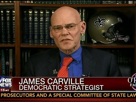 Carville: Would 'Probably Not' Advise Landrieu to Campaign with Obama in Reelection Bid
