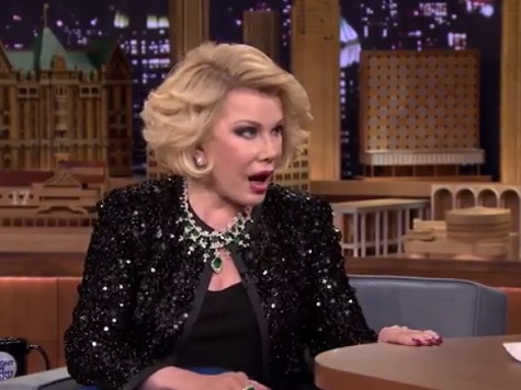 Joan Rivers Returns to 'Tonight Show' as Guest After 26-Year Ban with Jewish, Vagina Jokes