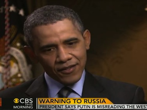 Obama: 'We Need' Putin to Remove Troops from Ukrainian Border 'Right Now'