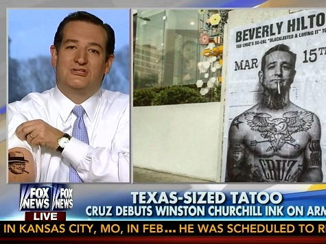 Ted Cruz Rocks New 'Ink' in 'Fox & Friends' Appearance Touting His Alternative to ObamaCare