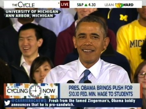 Obama: Republicans Trying to Sell 'Stink Burgers' and 'Mean-wiches'