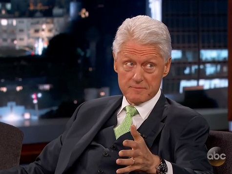 Bill Clinton Opens Up the Possibility of the Existence of Space Aliens