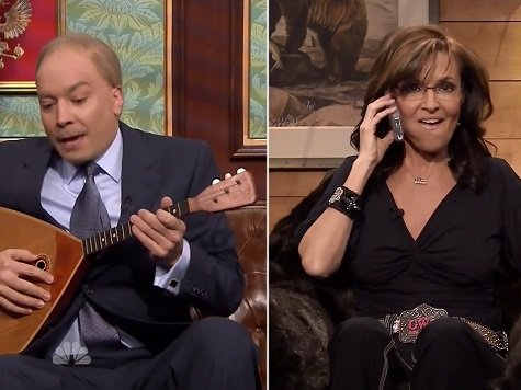 Palin, Fallon Mock Vladimir Putin in 'Tonight Show' Skit