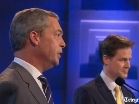Nigel Farage vs Nick Clegg Debate Highlights