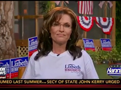 Palin Takes Dig at Letterman for Retirement, Defends Ryan Budget Criticism