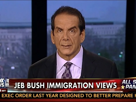 Krauthammer: No More 2016 Hopes for Jeb Bush After 'Bizarre' 'Act of Love' Remarks