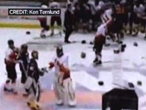 Brawl Breaks Out At New York Police-Firefighters Charity Hockey Game