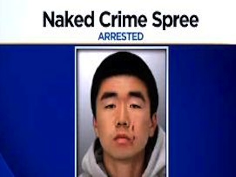 Man Arrested After Naked Crime Spree in Palo Alto