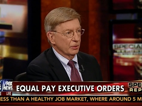 George Will: Obama Gender Pay Crusade 'Intellectually Incompetent,' 'Gift' to Trial Lawyers