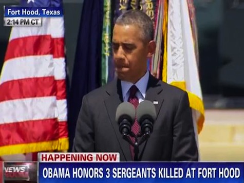 'We Have Been Here Before': Obama Honors Fort Hood Victims