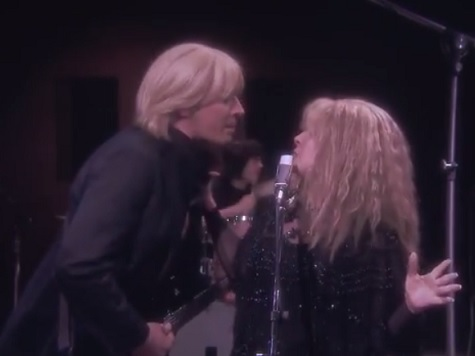 Jimmy Fallon Plays 'Tom Petty' with Stevie Nicks in Spoof of 'Stop Draggin' My Heart Around'