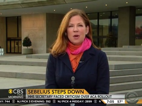 CBS's Jan Crawford: 'Remarkable' Sebelius Wasn't Fired Earlier