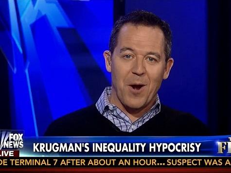 Gutfeld Praises 'Genius' Krugman for Taking $25K-Month Gig to Highlight Income Inequality