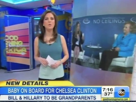 ABC's 'Good Morning America' Calls Chelsea Clintons Child America's 'Royal' Baby