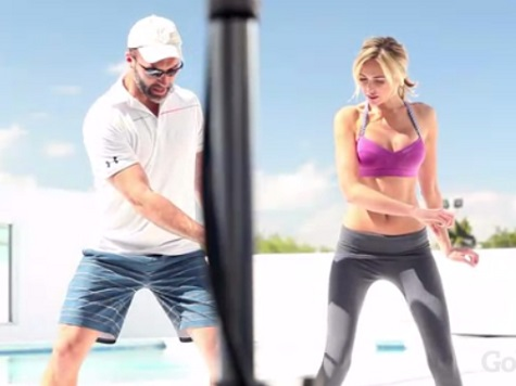 Watch: Paulina Gretzky Photo Shoot for Golf Digest