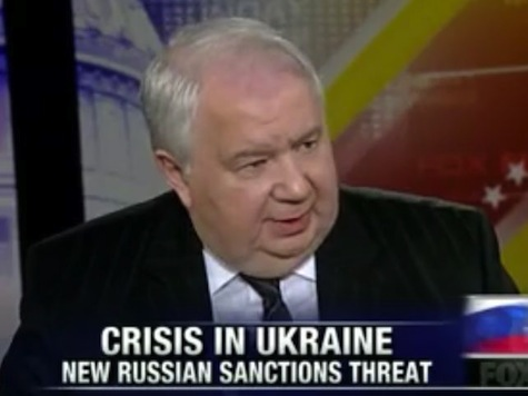Russian Ambassador: Sanctions are 'Revival' of 'Cold War Mentality'