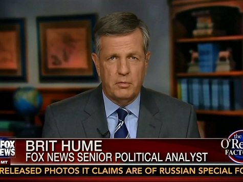 Brit Hume: Harry Reid 'Over the Top,' but 'Law Not on the Side of Cliven Bundy'