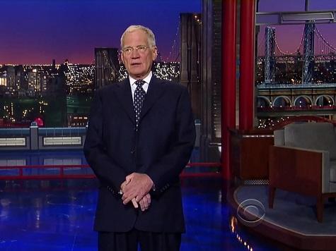 Letterman Jokes Hillary Taking Grandchild to Iowa, New Hampshire, South Carolina…