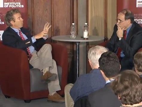Rand Paul, David Axelrod Debate Government Surveillance