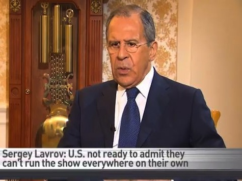 Russian Foreign Minister: 'Americans Are Not Ready to Admit They Cannot Run the Show'