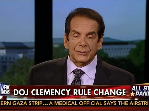 Krauthammer: Obama's Unconstitutional 'Habit' Is 'Eroding the Rule of Law'