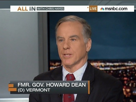Howard Dean Defines a 'Win' as Getting People Who Don't Like Obama to Like ObamaCare