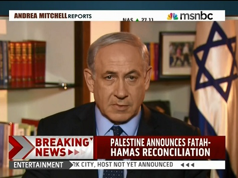 Netanyahu to Palestinian Authority on Peace Talks: 'Peace with Israel or Pact with Hamas'