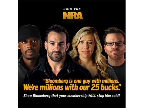 Watch: NRA Responds to Michael Bloomberg in New Ad