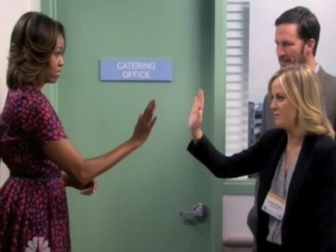 'Parks and Recreation' Gushes over Michelle Obama