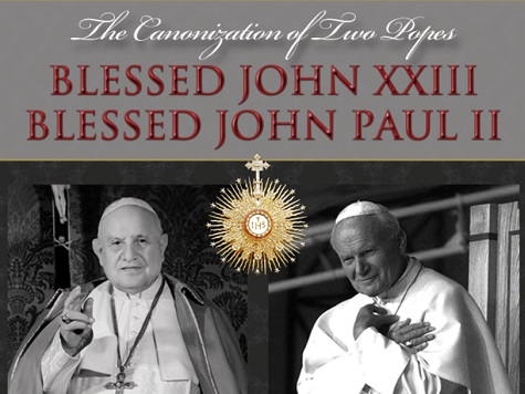Watch: The Canonization Two Popes