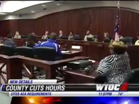 Georgia County Cuts Hours for Over 100 Employees-Due to ObamaCare