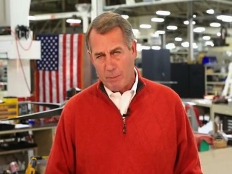 Boehner Gives GOP Weekly Address: Americans Are Still Asking 'Where Are The Jobs?'