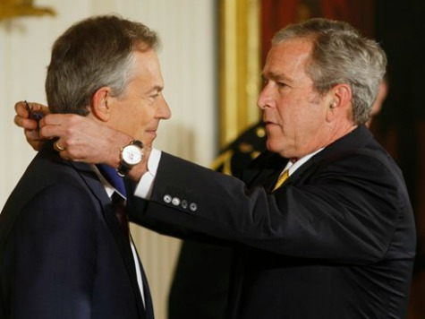 NBC's David Gregory Blames Bush, Blair for Islamic Extremism